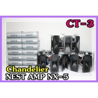 048 CT-3Chandelier  NEST AMP AX-5