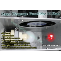 536-Ocean Mist Ultrasonic Humidifier 10 HEADS
