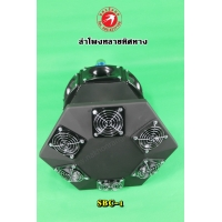 335-SBC-1 Super Black Combo Hexagon Horn Tweeter And 45DG UP  (HP9900)