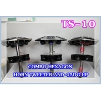 045 TS-10COMBO HEXA GON HORN TWEETE R AND 45DG UP