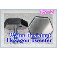 034 TS-2Hexagon Tweeter Water Resistant