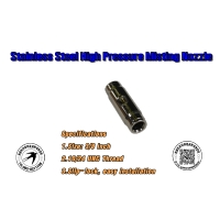 586-Stainless Steel High Pressure Misting Nozzle