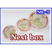 176 Round Bird Nest Gift Box